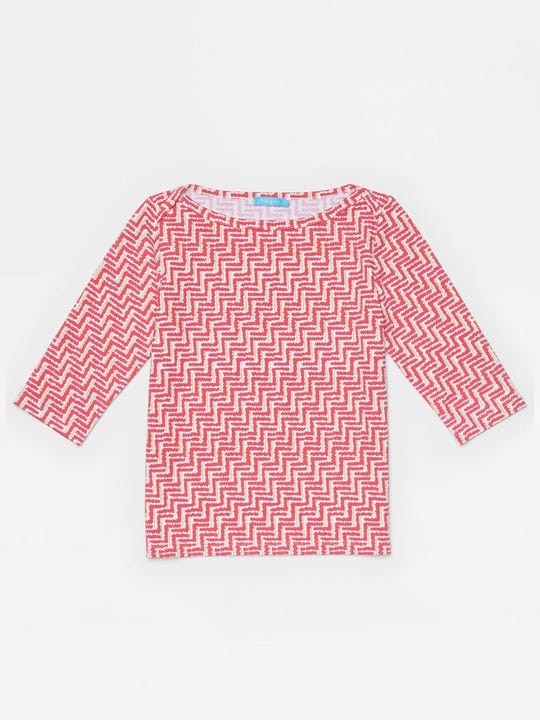 Girls' Mavis Tee in Checkson