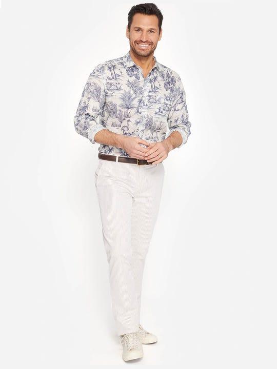 Lukas Pants in Stripe