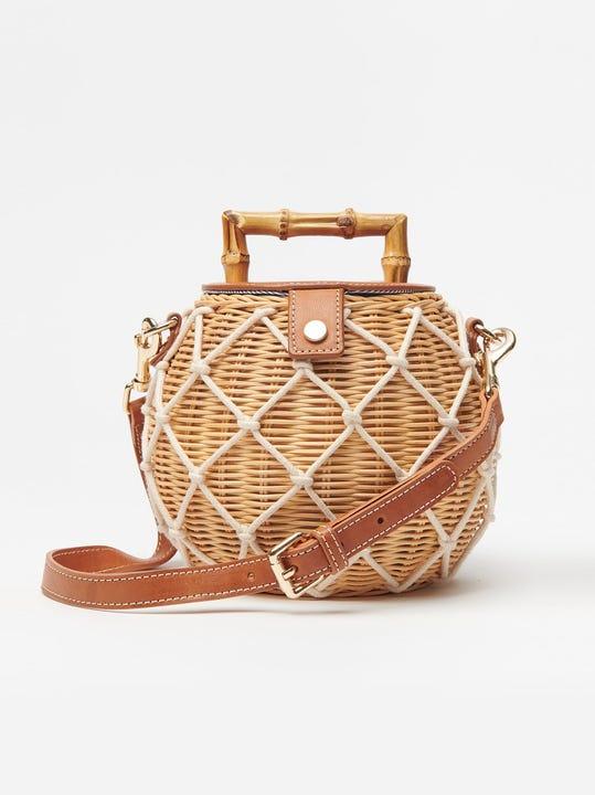 Heather Wicker Handbag