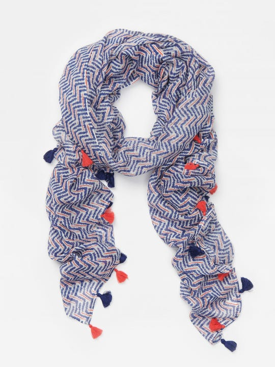 Ivie Scarf in Checkson