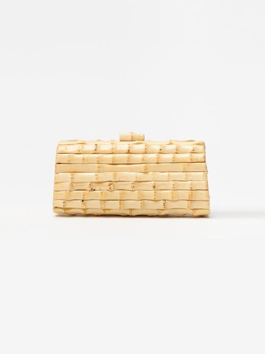 Kendra Bamboo Clutch