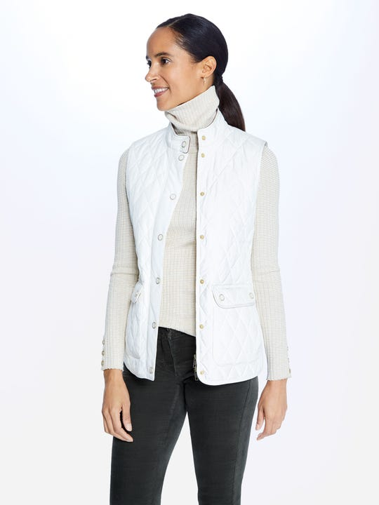 Langley Quilted Vest