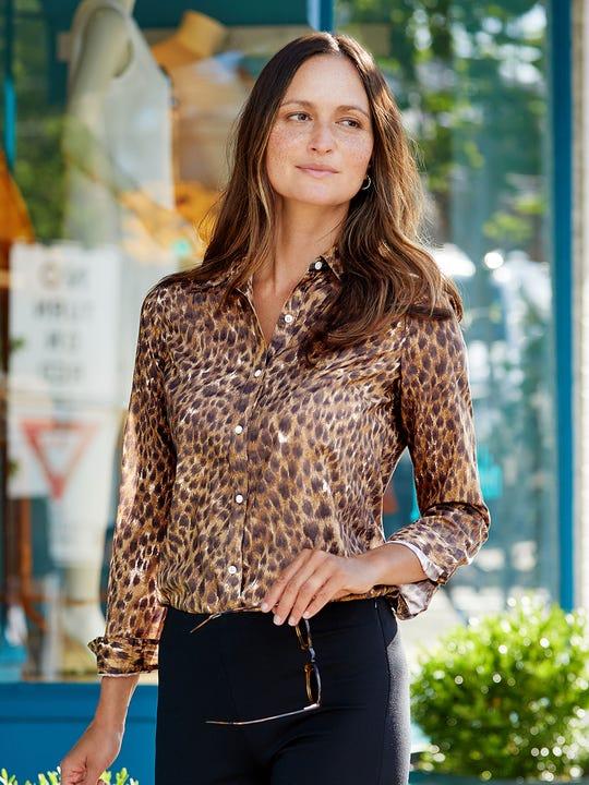 Lois Shirt in Safari