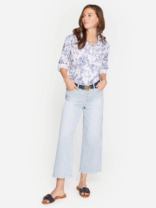 Loris Jeans in Stripe