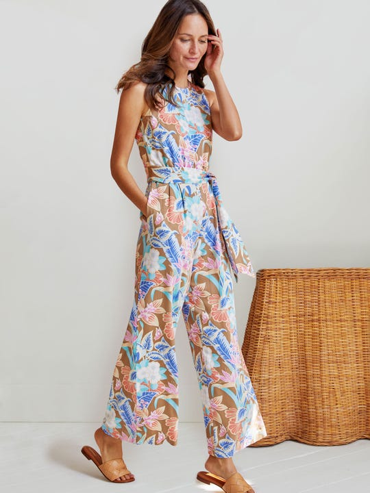 Rebekka Jumpsuit in Tropique
