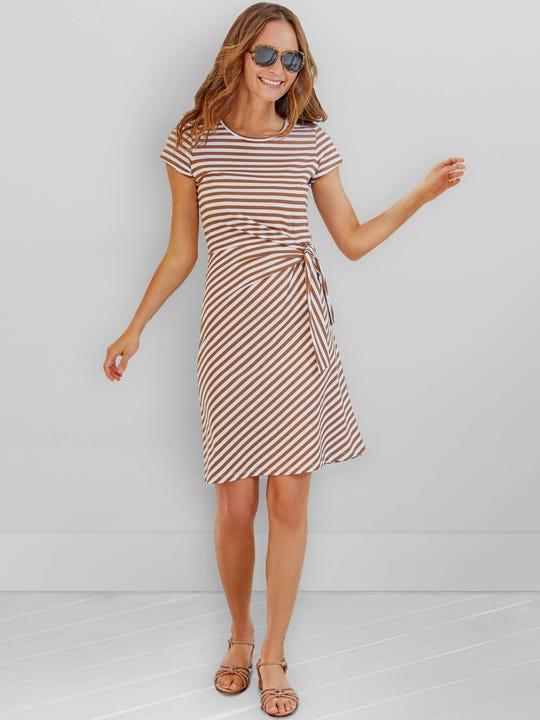 Elora Dress in Bangle Stripe
