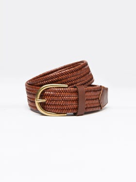Mason Leather Belt