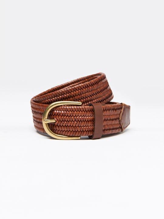 Mason Leather Belt