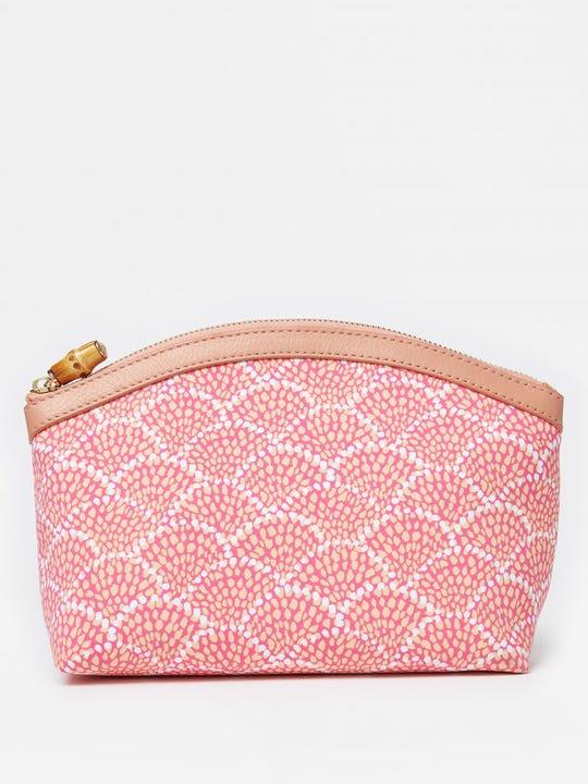 Medium Cosmetic Bag in Fanned Blossom
