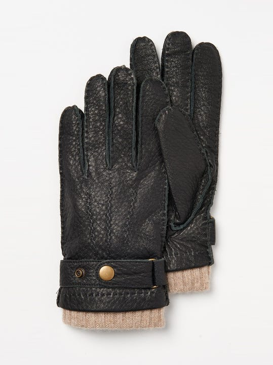 2 in 1 Leather Gloves