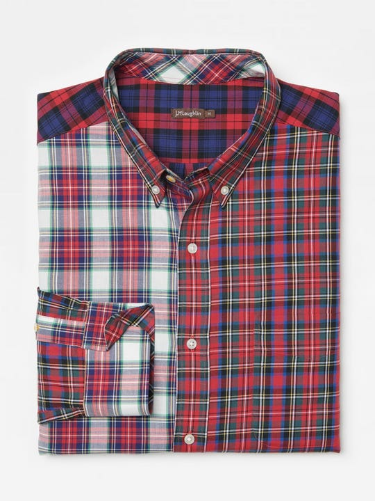 Carnegie Classic Fit Shirt in Plaid
