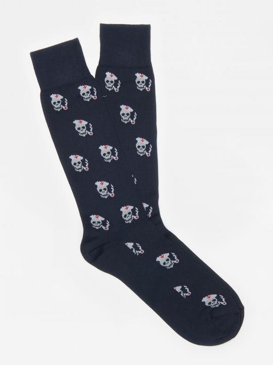 Skull Pipe Socks