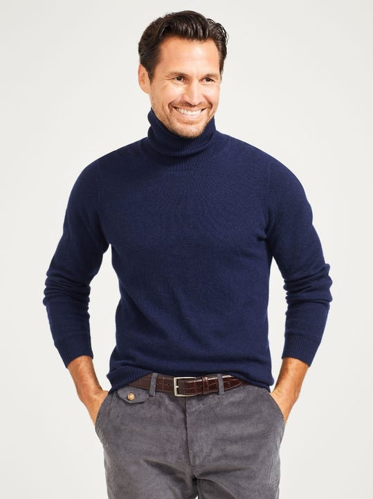 Miles Cashmere Turtleneck