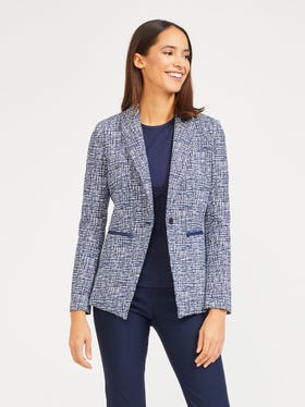 Mulberry Jacket in Picnic Penscript