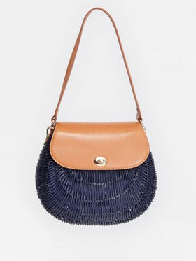 Dunlap Wicker Bag