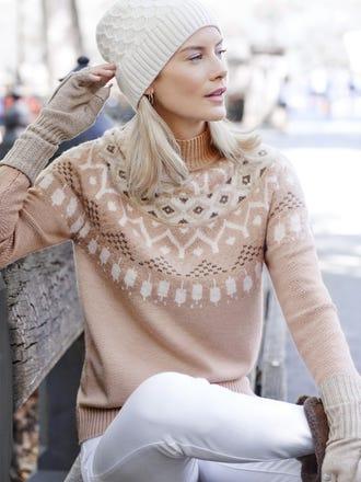 Oslo Sweater in Fairisle