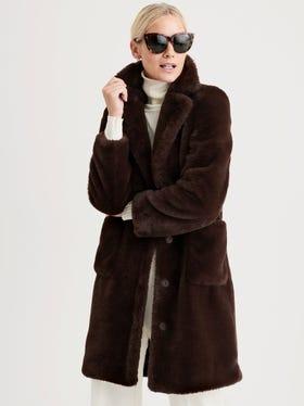 Hunter Faux Fur Coat