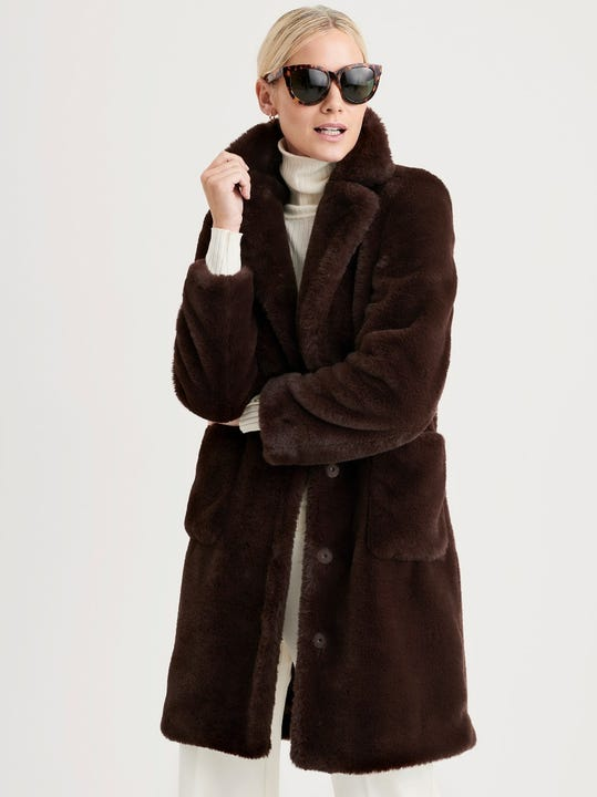Hunter Faux Fur Coat
