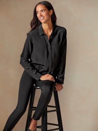 Rosalee Silk Shirt