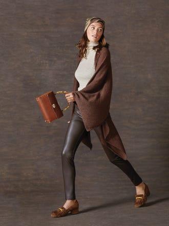 Becca Faux Leather Leggings