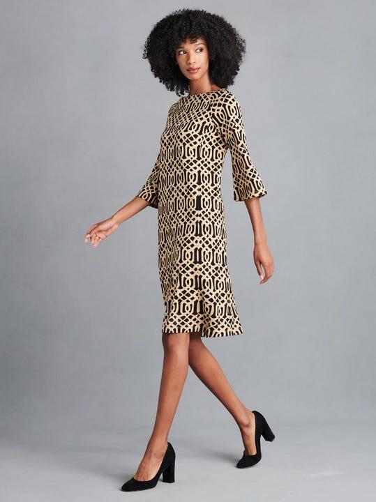 Campbell Dress in Mega Elsie