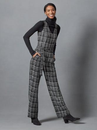 Holland Jumpsuit in Tweed