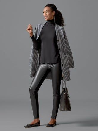 Lori Faux Leather Leggings