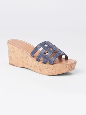 Piper Leather Wedges