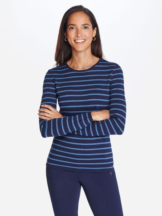 Poet Sweater in Stripe