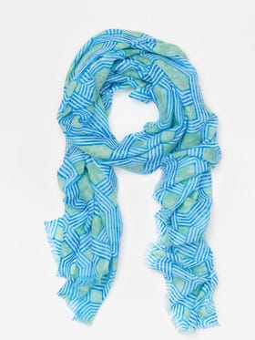 Reed Scarf in Cabana