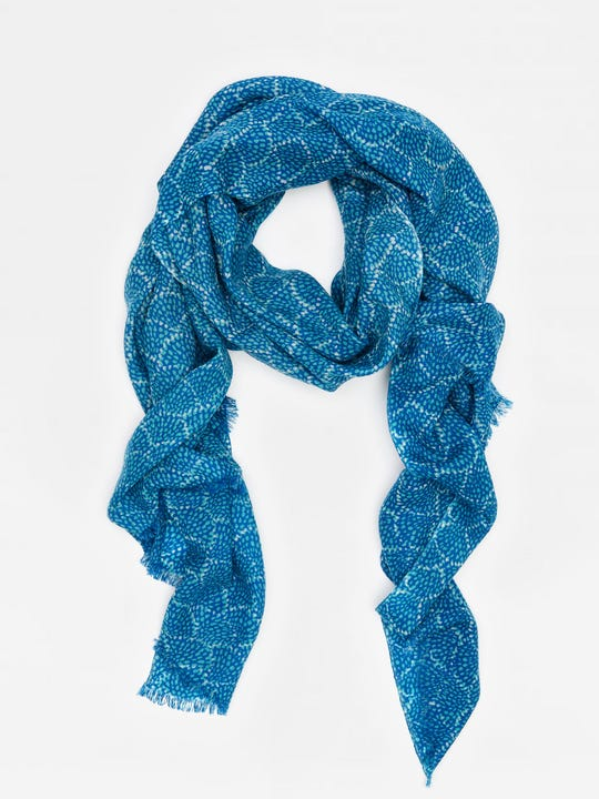 Reed Scarf in Fanned Blossom