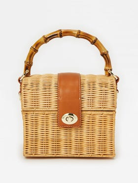Robyn Wicker Box Bag