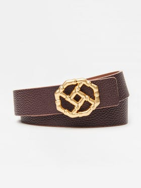 Ruby Reversible Leather Belt