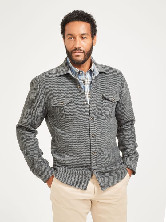 Rutland Shirt Jacket in Twill
