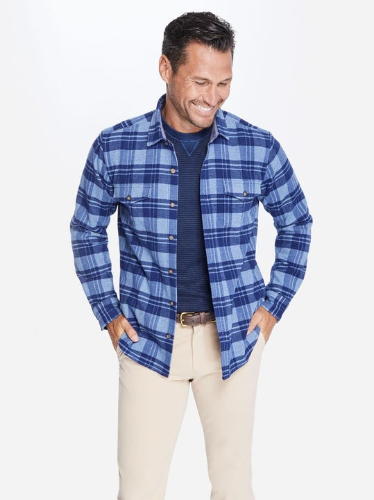 Rutland Shirt Jacket in Plaid