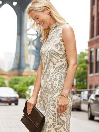 Liz Dress in Jaguar