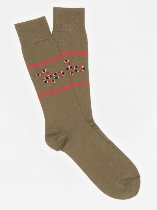 Milk Snake Socks