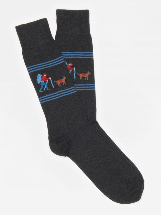Hiker and Dog Socks