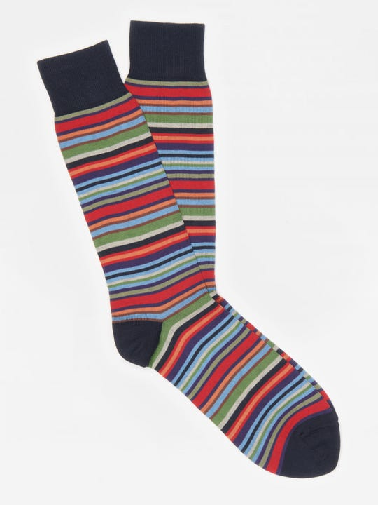 Variegated Stripe Socks