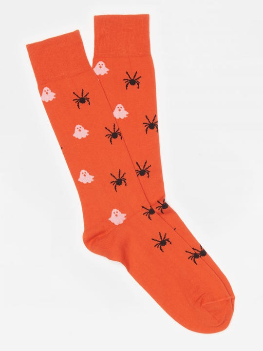 Ghost and Spider Socks