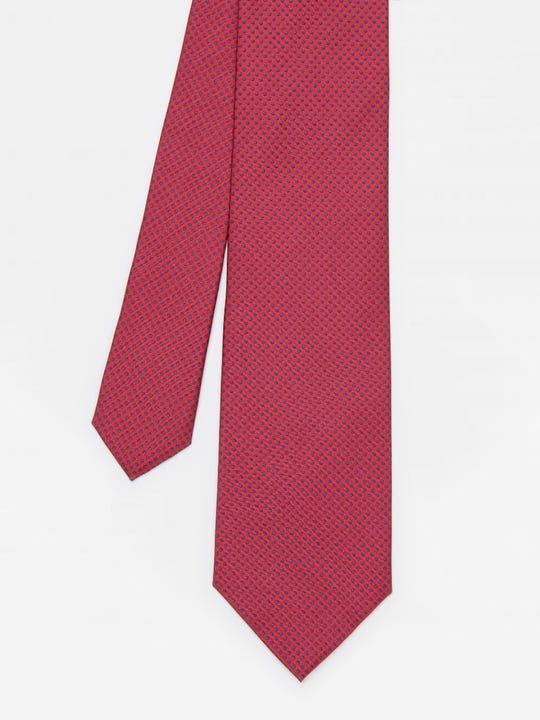 Italian Silk Tie in Micro Dot