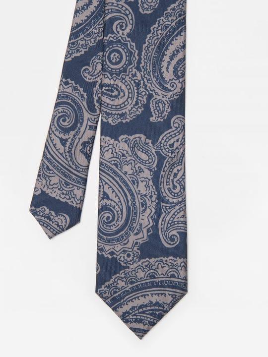 Italian Silk Tie in Grifin Paisley