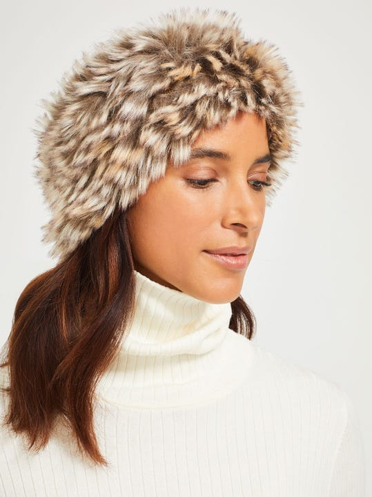Tundra Faux Fur Headband