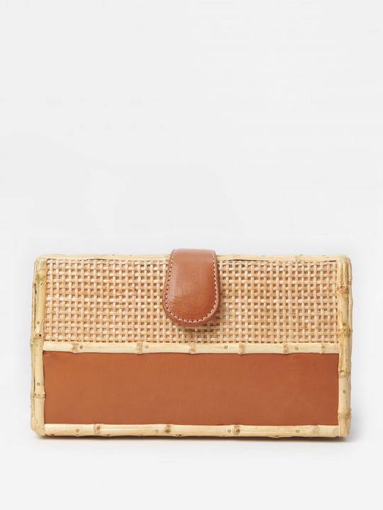 Valeria Wicker Clutch
