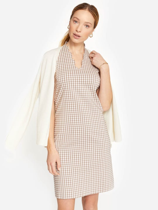 Vilma Dress in Gingham