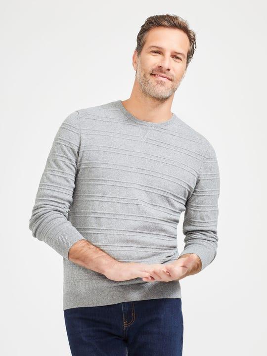 Ward Sweater in Stripe Jacquard