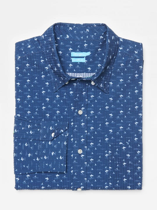 Westend Modern FIt Shirt in Shark With Fin
