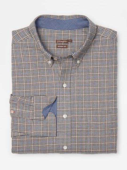 Westend Modern Fit Shirt in Houndstooth