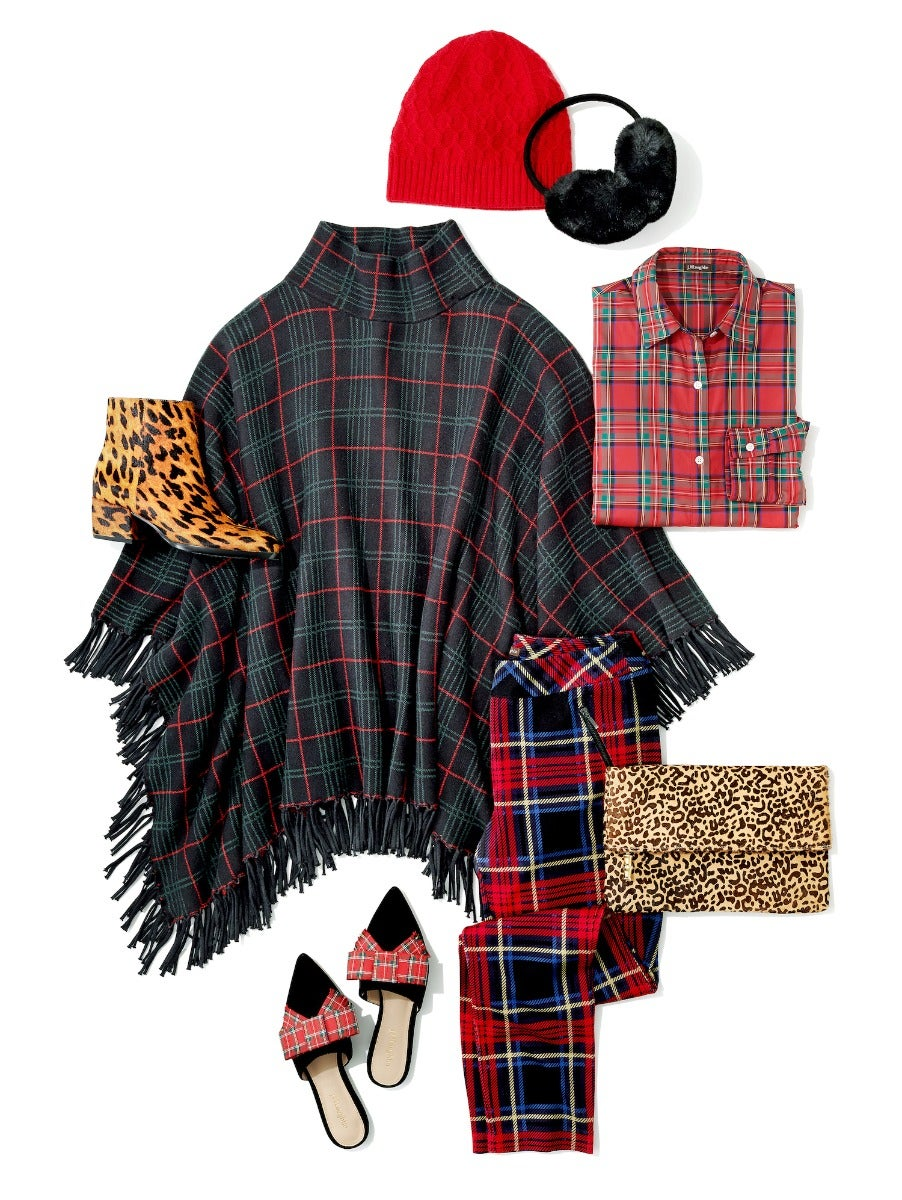 Plaid Clothing and Accessories