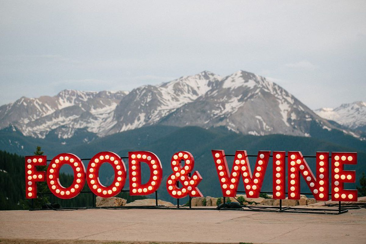 food and wine in aspen